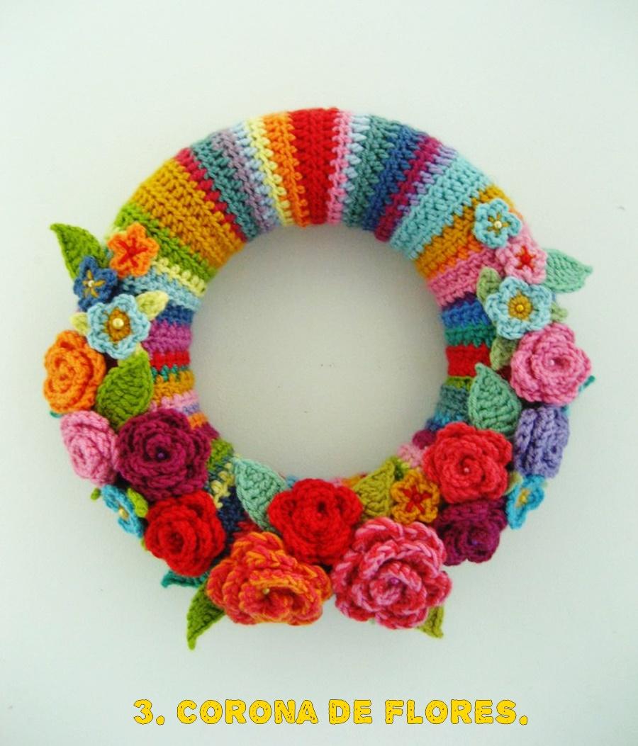 Mayo Mes De Las Flores De Ganchillo Tejiendo Con Gracia - Flores-ganchillo