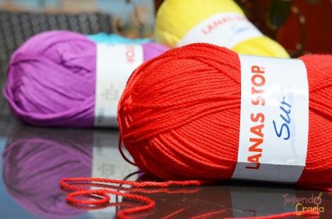 Rojo Sur de Lanas Stop