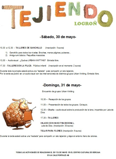Tejiendo Logroño convocatoria