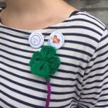 Tricotada solidaria de Madrid Knits, Lana Connection y Punto Cuqui