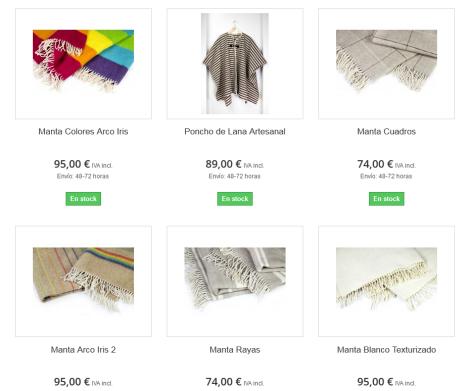 dlana colección textil